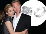 It's a bling thing! First look at Christina Applegate's humongous wedding ring after weekend nuptials with Martyn LeNoble