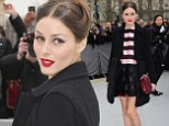 Olivia Palermo arrives for Dior's Ready to Wear's Fall-Winter 2013-2014 fashion collection presented Friday, March 1