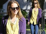 Natalie Portman on Thursday looked like almost any other average girl as she ran errands in Hollywood