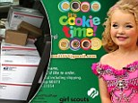 Honey Boo Boo told to stop selling Girl Scout cookies on her fan page because it's UNFAIR for other kids who have to lug them door-to-door