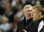 Helping hand: Roberto Mancini's side are helping Madrid before their clash with Sir Alex Ferguson's team