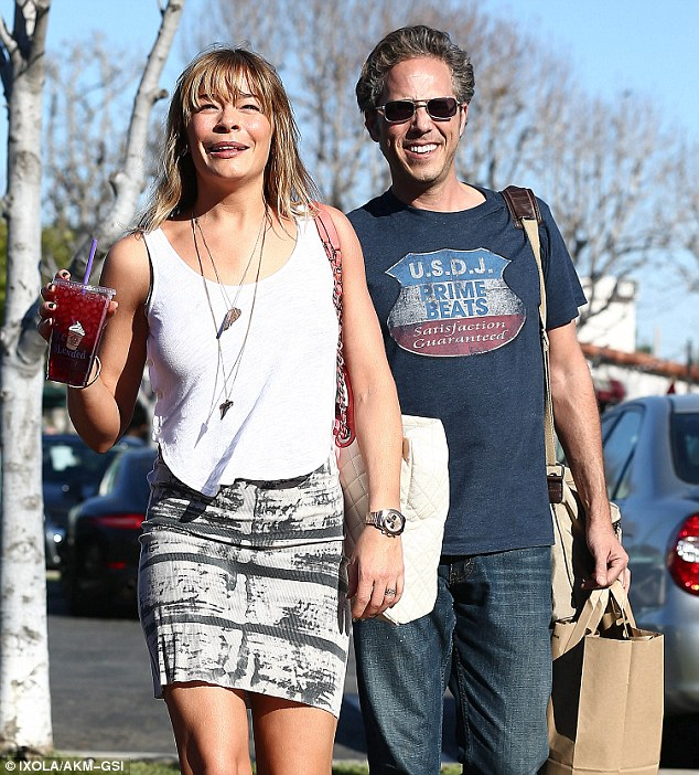He knew her when: LeAnn Rimes got flirty with music producer Jeff Berger as the longtime pals shopped together at the Malibu Country Mart Friday