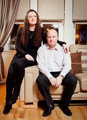 Delighted: The payout will bring security for Mark Cannon and his wife Sharlene