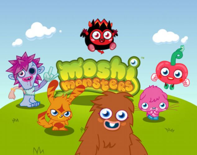 Craze: Moshi Monsters are aimed at children aged between six and 14 with youngsters desperate to collect figurines of the cute creatures