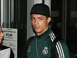 But what is he wearing: Manchester in March is a bit cold for shorts, Cristiano