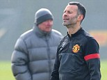 Landmark appearance: Sir Alex Ferguson confirmed Ryan Giggs will play his 1,000th game for Man United against Real Madrid