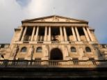Bank of England in London