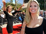 New judge: Heidi Klum at her first America's Got Talent audition in New Orleans on Monday