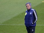 Playing it down: Jose Mourinho indicated he will never take over at Old Trafford