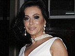 Taking to the stage: Nancy Dell'Olio is to appear in The Powder Room at the Arts Theatre in Covent Garden