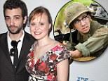 'Alone again... heartbroken': Tropic Thunder star Jay Baruchel is 'dumped' by Newsroom actress fiancee Alison Pill