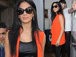 Nicole Scherzinger leaves her hotel and heads to a rehearsal studio