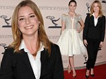 Style Revenge! Emily VanCamp is outshone by co-star Christa B. Allen in a dramatic dress as they promote their hit show