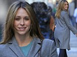 Jennifer Love Hewitt looks tired and drab in her woolen coat in the Big Apple