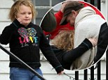Never leave again! Honey Boo Boo shares a tender moment with her father after he is released from hospital