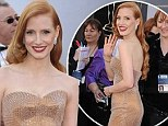 'I'm not going to be the girl with the private yoga instructor at my house,' said 35-year-old Jessica Chastain