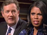 'She's a villain!': Piers Morgan dishes harsh words for Omarosa as Celebrity All-Star Apprentice gets off to a fiery start