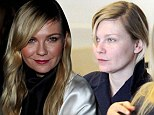Polished to perfection! Kirsten Dunst cuts a stylish figure at fashion show with beau Garrett Hedlund after jetting into Paris make-up free