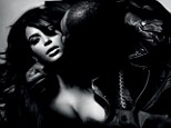 Getting intimate: More shots from Kim Kardashian and Kanye West in L'Officiel Homme magazine have been revealed