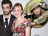 'Alone again... heartbroken': Tropic Thunder star Jay Baruchel is 'dumped' by Newsroom actress fiancee Alison Pill