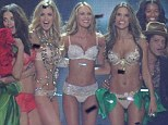 Thin thighs: The Victoria's Secret Angels have made no secret of the intense workouts required to get their super-toned bodies