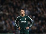 All change: Real Madrid will wear their second European strip of all-green against Manchester United this evening