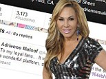 'I am forever grateful to my fans, thank you for your support and stay tuned!': Adrienne Maloof confirms she is leaving Real Housewives Of Beverly Hills
