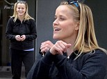 Reese Witherspoon breaks into a 'Gangnam Style' dance in the street!