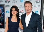 'Big name for a very little baby!' Alec Baldwin's pregnant wife Hilaria reveals what HE wants to call their baby