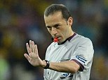 I've got this: Turkish referee Cuneyt Cakir will be familiar with the hostile atmosphere tonight at Old Trafford