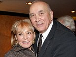 Barbara Walters got the chicken pox after kissing Frank Langella at New Year's