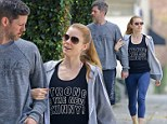 Strong never looked so good: Amy Adams headed to the gym, on Tuesday