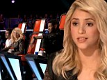 'The claws come out': The Voice preview reveals Shakira is anything but sweet as the show's new judge