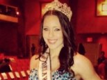 Allegations: A porn website posted a sex video on Monday featuring a woman who looks and sounds like Melissa King claiming it is the teen pageant winner
