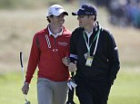 Parting shot: Rory McIlroy and Steve McGregor have split
