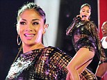 Don't Cha wish you had a derriere like mine? Nicole Scherzinger shows off her pert bottom in skimpy leather outfit at Comic Relief show