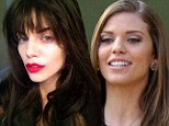 Going to the dark side! AnnaLynne McCord turns brunette after five years as a blonde on 90210... and then reveals it's only a wig