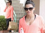 She IS eating for two! Jenna Dewan-Tatum indulges her pregnancy cravings with tacos to go after a workout