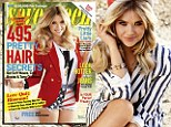 All American girl! Ashley Benson shows her patriotic side as she wears sexy red, white and blue Daisy Dukes for Seventeen shoot
