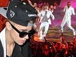 Justin Bieber arrives on stage two minutes EARLY for second night at London's O2 after late concert furore