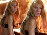 She's red hot! Gwyneth Paltrow strips down to a bra as she joins onscreen love interest Robert Downey Jr. in new Iron Man 3 trailer