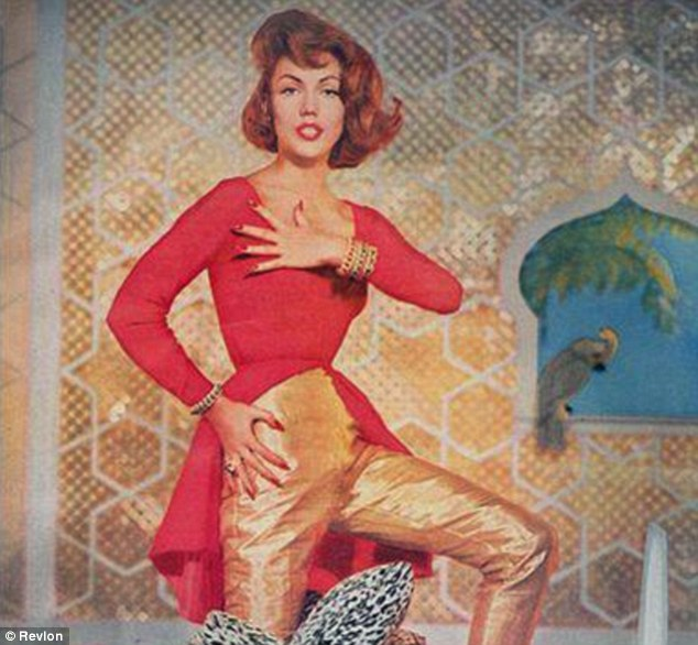 Top model: Gita Hall May, pictured, was a popular 1950s and 1960s model. She claims Mad Men used her image to give the show credibility and she is entitled to damages as a result