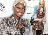 Nene Leakes at the Paley Center event's The New Normal gather with Georgia King with Bebe Wood