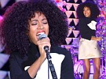Singer Solange Knowles performs at The Armory Party at MOMA