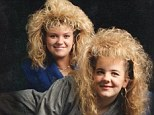 Mane attraction: This pictured posted by Jessica shows competitive hairstyling is never a good idea
