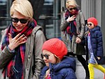 The actress and her daughter Matilda looked like they were sharing a joke as they laughed together on a New York outing on Wednesday.