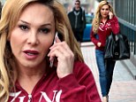 Bouncing back! Adrienne Maloof looks ready to take on the world after announcing she's leaving Real Housewives Of Beverly Hills