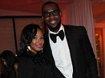 Happy couple: Miami Heat star LeBron James and his long-term love Savannah Brinson have finally set a date for their wedding, telling friends and family to block out the weekend of September 13 - 15.