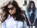 Sizing up? Pregnant Jenna Dewan-Tatum takes her baby bump shoe shopping at Rag & Bone
