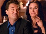 Reunion: Courteney Cox and Matthew Perry reunite onscreen for the first time in nine years